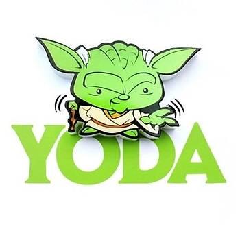 3D Light FX Star Wars Yoda Mini Duvar Lambasý
