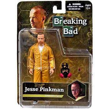 Mezco Breaking Bad Jesse Pinkman in Yellow Hazmat Suit Figure