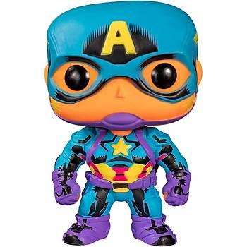 Funko Pop Marvel - Black Light Captain America