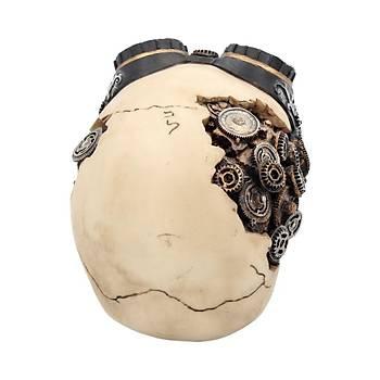 Nemesis Goggles 15cm Dekoratif Kurukafa