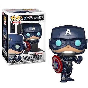 Funko POP Marvel Avengers Game-Verse Captain America (Stark Tech Suit)
