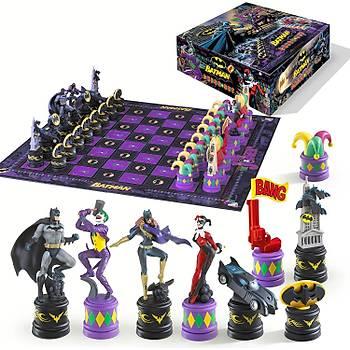 Noble Collection The Batman Chess Set ( The Dark Knight vs The Joker ) Satranç Seti