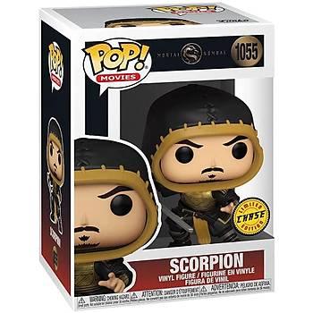 Funko Pop Movie Mortal Kombat Scorpion Chase Figure - Scorpion Without Mask
