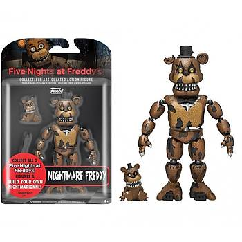 """Action Figure Five Nights At Freddys 5"""" Articulated Nightmare Freddy"""