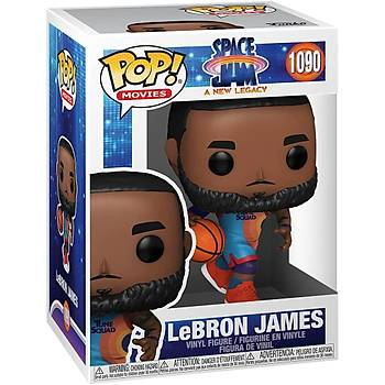 Funko Pop Movies Space Jam A New Legacy - Lebron James Dribbling