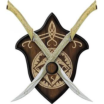 The Lord Of The Rings Fighting Knives Of Legolas 1:1 Life Size
