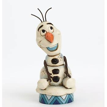 """Disney Traditions Frozen Showcase Collection """"Silly Snowman"""" Olaf Figurine"""