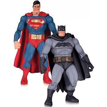 The Dark Knight Returns 30th Anniversary Superman & Batman 2'Li Figür Seti