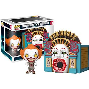 Funko POP Town IT 2 Demonic Pennywise with Funhouse