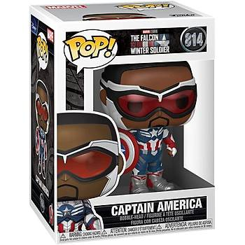 Funko Pop Marvel  Falcon and The Winter Soldier - Captain America (Sam Wilson) with Shield