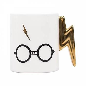 Harry Potter Shaped Mug - Harry Potter Lightining Bolt Kupa