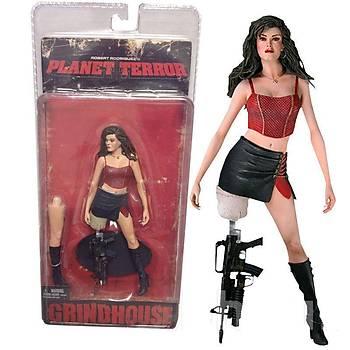 Rose McGowan Cherry - Planet Terror Grindhouse Robert Rodriguez - Action Figure