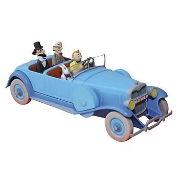Tintin Blue Lincoln Torpedo Figure