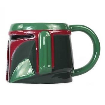Star Wars Boba Fett 3 Boyutlu Kupa Bardak