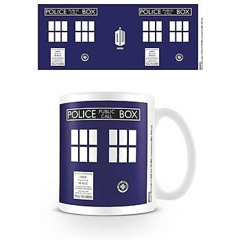 Kupa Bardak Doctor Who Tardis