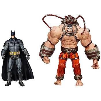 DC Collectibles Batman Arkham City Batman Vs Bane Action Figure 2 Pack