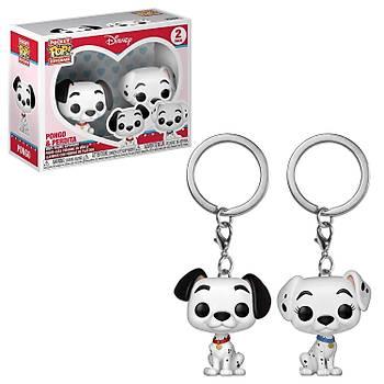 Funko POP Anahtarlýk Disney - Pongo & Perdita