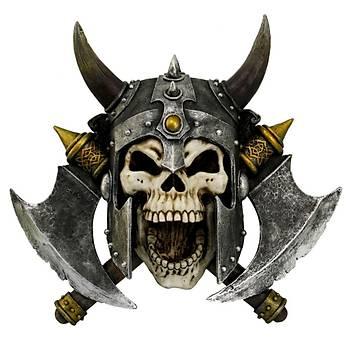 Nemesis Valhalla's Vengeance 33cm Dekoratif Kurukafa