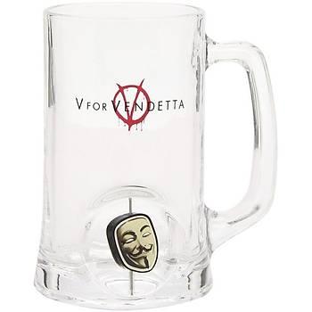 V For Vendetta 3D Maske Bira Bardaðý