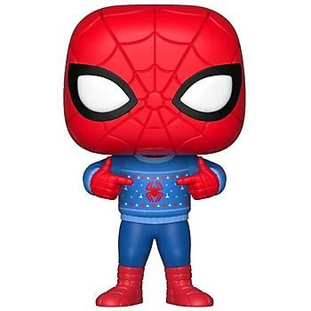 Funko POP Marvel Universe - Holiday Spider Man