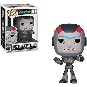 Funko POP Rick & Morty - Purge Suit Rick