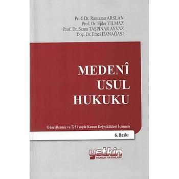 Medeni Usul Hukuku - Ejder Yýlmaz, Ramazan Arslan, Sema Taþpýnar Ayvaz Yetkin Yayýnevi 2020