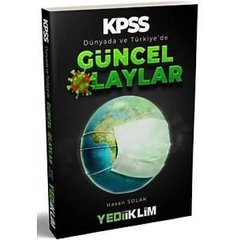 Yediiklim Yayýnlarý KPSS 2020 Dünyada ve Türkiye de Güncel Olaylar