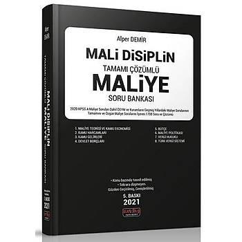 2021 Mali Disiplin Maliye Soru Bankasý Çözümlü - Alper Demir 5. Baský Savaþ Yayýnlarý