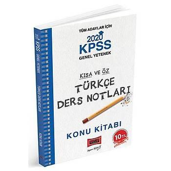 KPSS Türkçe Kýsa ve Öz Ders Notlarý Yargý Yayýnlarý 2020