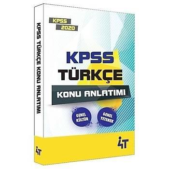 4T KPSS Türkçe Konu Anlatýmý 4T Yayýnlarý 2020