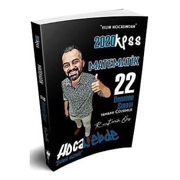 HocaWebde Yayýnlarý 2020 KPSS Matematik Tamamý Çözümlü 22 Deneme Sýnavý