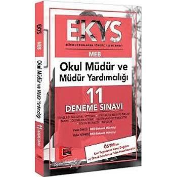 EKYS MEB Okul Müdür ve Müdür Yardýmcýlýðý 11 Deneme Sýnavý Yargý Yayýnlarý 2019