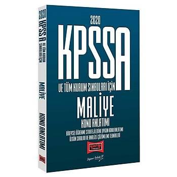 KPSS A Grubu Maliye Konu Anlatýmlý Yargý Yayýnlarý 2020