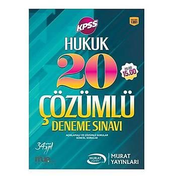 KPSS Hukuk 20 Çözümlü Deneme Sýnavý Murat Yayýnlarý 2017