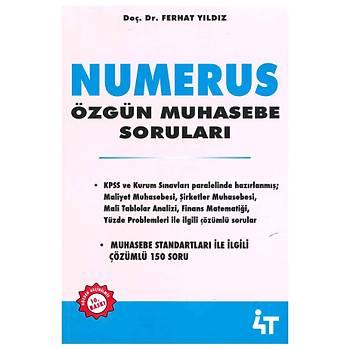 NUMERUS Özgün Muhasebe Sorularý - Ferhat Yýldýz  10 Baský