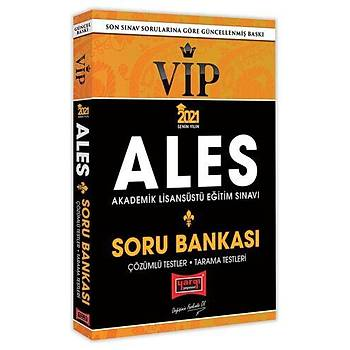 Yargý Yayýnlarý 2021 ALES VIP Tamamý Çözümlü Soru Bankasý