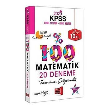 KPSS Matematik Tamamý Çözümlü 20 Deneme Yargý Yayýnlarý 2020