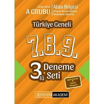 Pegem 2019 KPSS Alan Bilgisi A Grubu Türkiye Geneli Deneme (7.8.9) (Hukuk-Ýktisat-Maliye-Muhasebe-Ýþletme)