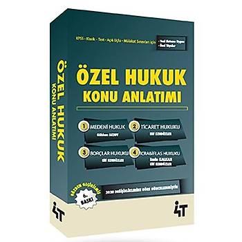 4T Özel Hukuk Konu Anlatýmlý Elif Kendüzler Özbek 4T Yayýnlarý 2021