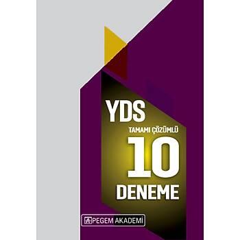 PEGEM 2020 YDS Tamamý Çözümlü 10 Deneme