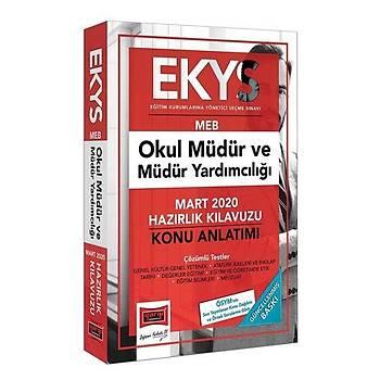 EKYS MEB Okul Müdür ve Müdür Yardýmcýlýðý Hazýrlýk Kýlavuzu Yargý Yayýnlarý 2020