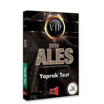 Yargý Yayýnlarý 2018 ALES VIP Yaprak Test