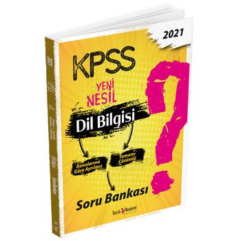 Tercih Akademi 2021 KPSS Dil Bilgisi Soru Bankasý Tercih Akademi Yayýnlarý