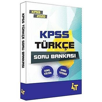 KPSS Türkçe Soru Bankasý 4T Yayýnlarý 2020