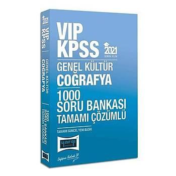Yargý Yayýnlarý 2021 KPSS VIP Coðrafya Tamamý Çözümlü 1000 Soru Bankasý