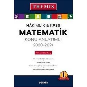 Seçkin THEMIS 2020-2021 Hakimlik KPSS Matematik Konu Anlatýmlý - Mehmet Polat Ýnal