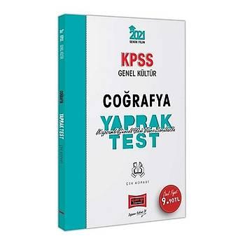 Yargý 2021 KPSS Coðrafya Yaprak Test Çek Kopart Yargý Yayýnlarý