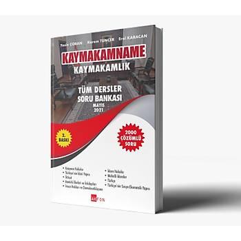 KaymakamName Kaymakamlýk Tüm Dersler Çözümlü 2000 Soru Bankasý Mayýs 2021 Yasin Çoban,Kerem Tünçer,Erol Karacan