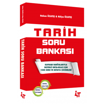 4T KPSS Tarih Soru Bankasý Çözümlü - Hakan Özateþ 4T Yayýnlarý