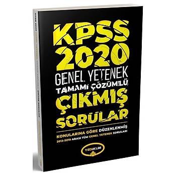 2020 KPSS Genel Yetenek Çýkmýþ Sorular Konularýna Göre Çözümlü 2013-2019 Yediiklim Yayýnlarý
